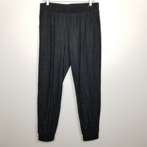 Cabi | lace track pants | lined | cuffed